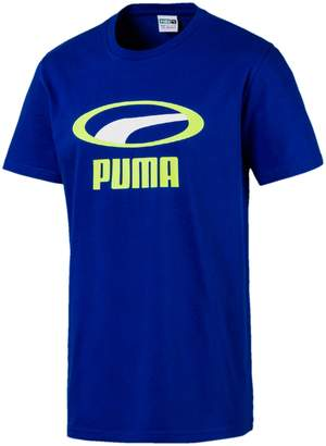 Puma Graphic Logo Cotton Jersey Tee