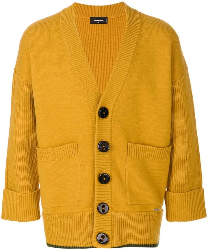DSQUARED2 oversized button cardigan