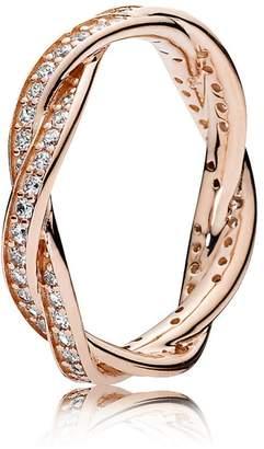 Pandora Women Vermeil Anniversary Ring - 180892CZ-56