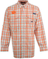 Columbia Men's Clemson Tigers Super Bonehead Long Sleeve Shirt