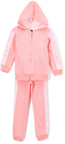 U.S. Polo Assn. Coral Zip-Up Hoodie & Pants - Infant
