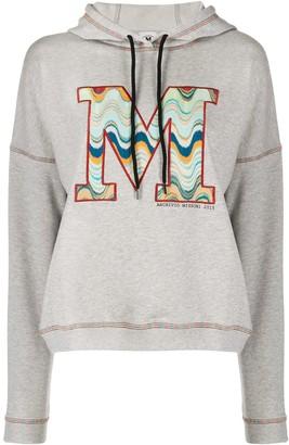 M Missoni Embroidered Logo Hoodie