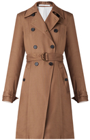 Veronica Beard Hutton Drapey Trench