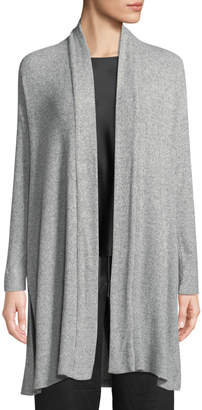 Natori Ulla Rib-Knit Long Lounge Cardigan