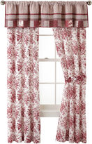 JCPenney Home ExpressionsTM Rosetti Floral 2-Pack Curtain Panels