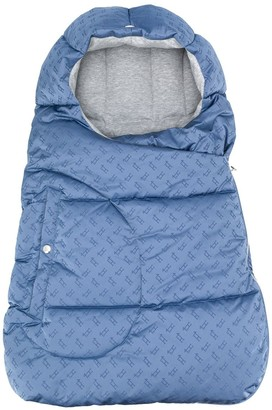 Herno All-Over Logo Padded Baby Nest