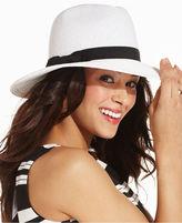 Nine West Hat, Packable Large Brim Fedora