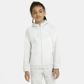 Nike Big Kids' Jacket Sportswear Windrunner