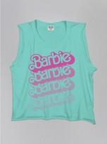 Junk Food Clothing Kids Girls Barbie Tank-mint-xl