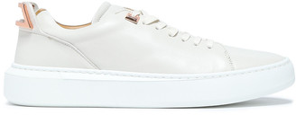 Buscemi Rose Gold-trimmed Leather Sneakers