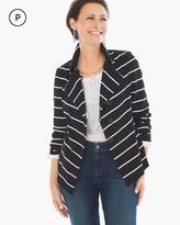 Chico's Stripe Knit Jacket