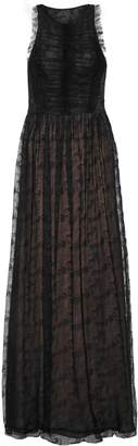 Jason Wu Ruched Crinkled-lace Gown