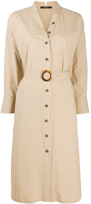 Seventy Buttoned Shirt Dress