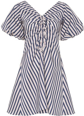 Paper London Sisi striped mini dress