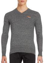 Superdry Orange Label V-Neck Pullover