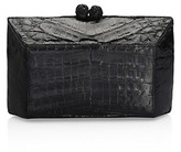 Thumbnail for your product : Nancy Gonzalez Gramercy Crocodile Box Clutch