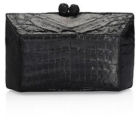 Nancy Gonzalez Gramercy Crocodile Box Clutch