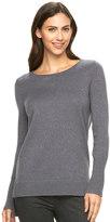 Apt. 9 Women's Sparkle Scoopneck Sweater
