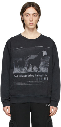 Rhude Black Best I Can Sweatshirt