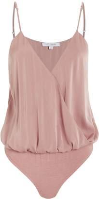 Intermix Annabelle Silk Bodysuit