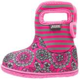 Bogs BABY PANSY STRIPE Winter boots pink multicolor