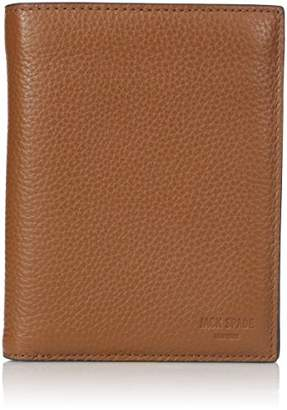 Jack Spade Men's Pebble Leather Travel Wallet