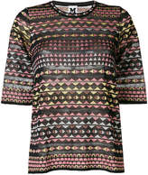 M Missoni patterned knit T-shirt