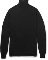 Rick Owens - Oversized Wool Rollneck Sweater