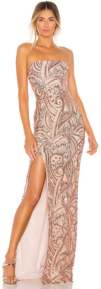 Nookie Sensational Sequin Gown