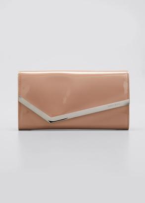 Jimmy Choo Emmie Patent Clutch Bag
