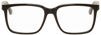 Gucci Black Rectangle Stripe Glasses