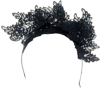 Olga Berg Nadia Leaf Lace Fascinator