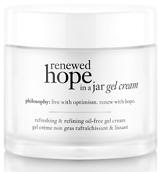 philosophy renewed hope in a jar dry skin 60ml