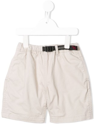 Denim Dungaree X Gramicci shorts