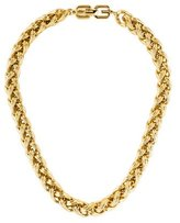 Givenchy Woven Link Necklace