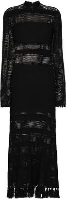 ESCVDO Nauta crochet dress