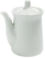 White Porcelain Soy Sauce Dispenser