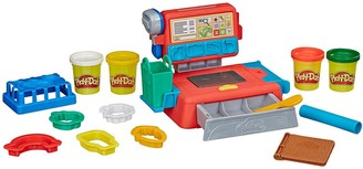 Play-Doh Cash Register Toy with 4 Non-Toxic Colours