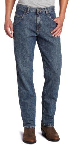 Wrangler Men's Rugged Wear Regular Straight-Fit Jean