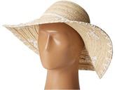 San Diego Hat Company PBL3075 Floppy Paper Braid Hat with Shells