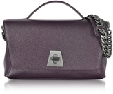 Akris Blackberry Cervocalf Anouk Day Bag w/Detachable Chain