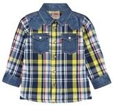 Levi's Yellow Denim Check Shirt