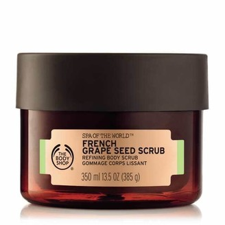 The Body Shop Spa Of The World French Grape Seed Body Scrub