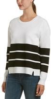 J Brand Striped Sweatshirt.