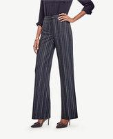 Ann Taylor Striped High Waist Wide Leg Pants