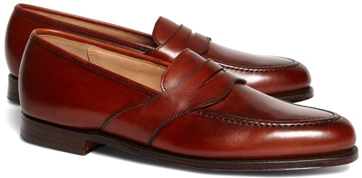 Brooks Brothers Peal & Co. Extended Strap Loafers