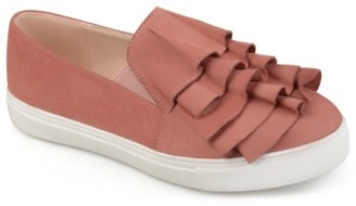 Journee Collection Glint Slip-On Sneaker