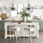 Williams-Sonoma Barrelson Kitchen Island with Marble Top
