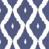 Graham & Brown Wallpaper Sample - Ikat Blue