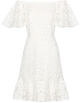 Valentino Lace off-the-shoulder dress
